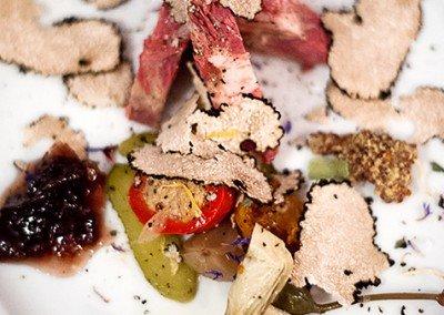 Simmenthal artigianale con tartufo e peperoncini ripieni