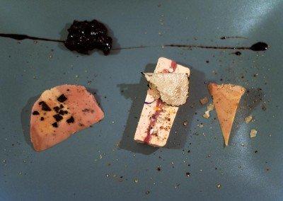 Variazione di foie gras